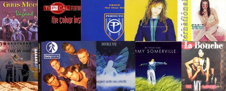 המצעד הלועזי השנתי 1995 – מקומות 50-21